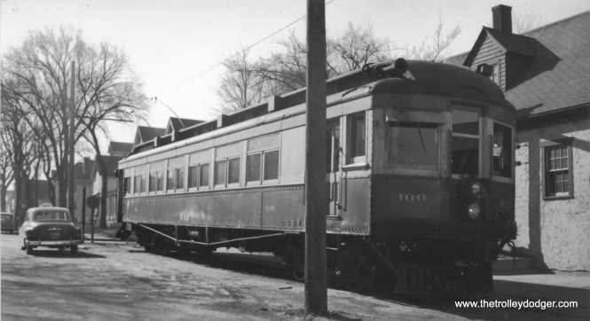Waterloo Cedar Falls & Northern car 100 this car is featured on RRC 2