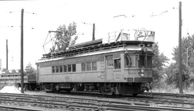 Line car #1100. (Gus Wilson Photo)