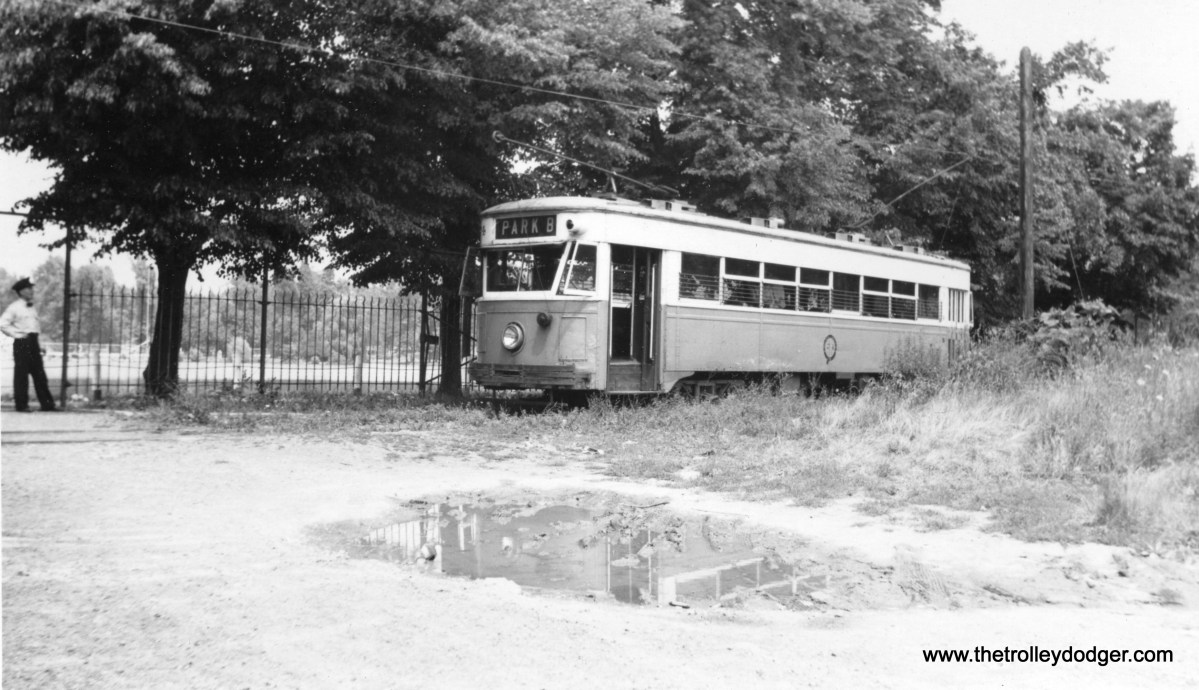 """Altoona and Logan Valley car 74. Don's Rail Photos: """"74 was built by Osgood-Bradley Car Co in 1930."""""""