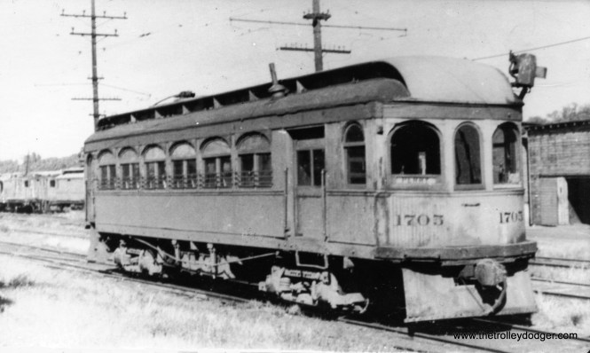 Des Moines and Central Iowa #1705 in October 1938.