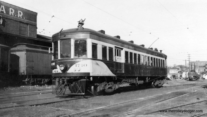 Des Moines and Central Iowa car 1710.