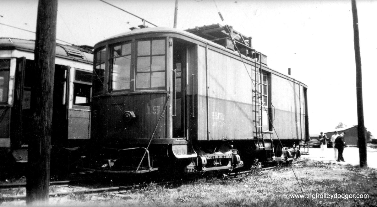 Hagerstown and Frederick #19 in Frederick, MD on May 30, 1939.