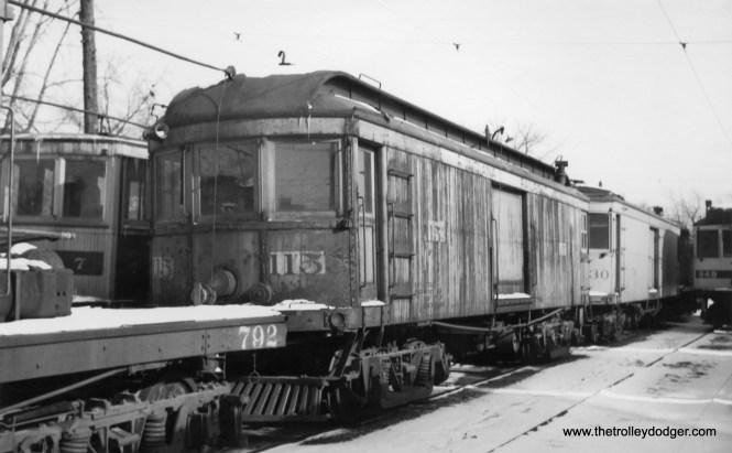 Indiana Railroad box motor #115.