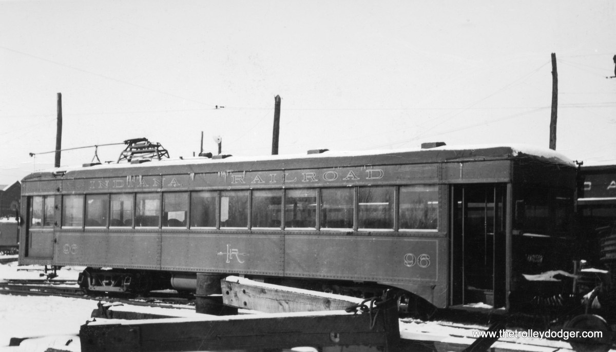 Indiana Railroad lightweight car 96.