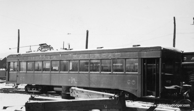 Indiana Railroad lightweight car 96.