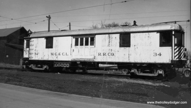 Mason City and Clear Lake car #34 (photo restored).