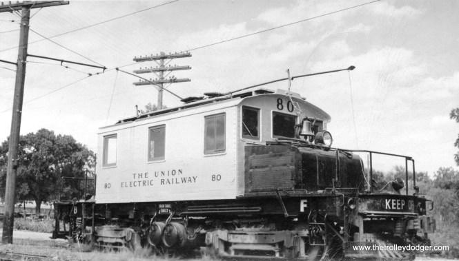 Union Electric Railway loco #80.