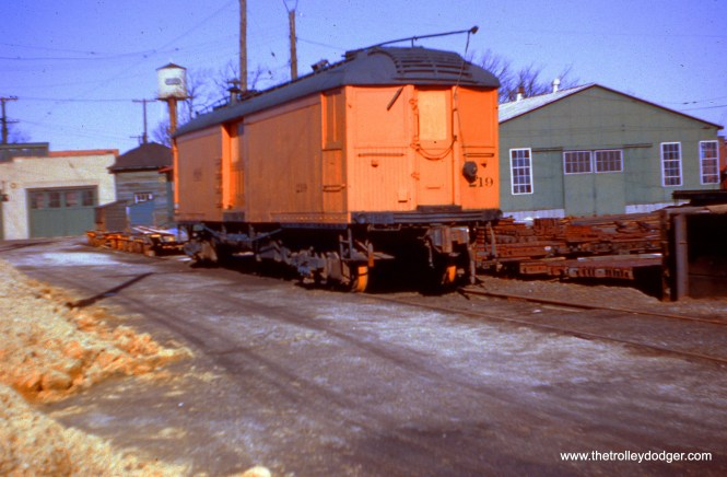 NSL 219 on November 24, 1955. Don's Rail Photos adds: