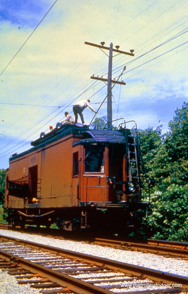 Line car in June 1952.