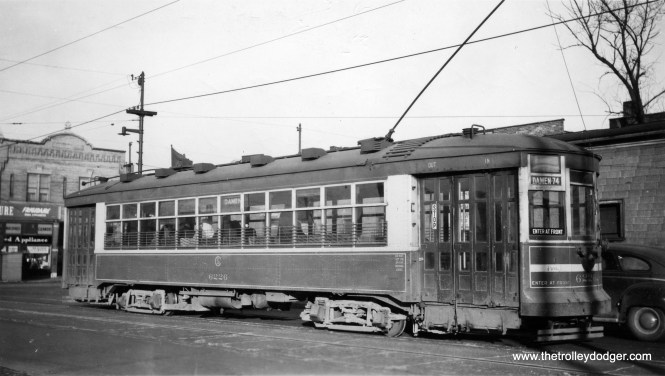 CSL 6226 at Damen and 63rd in 1944.