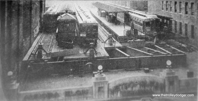 The Wells Street Terminal, prior to its 1920s renovation.
