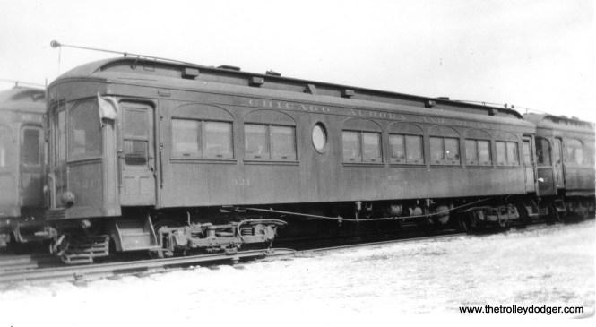 CA&E 321 at Laramie Yards in Chicago. (Edward Frank, Jr. Photo)