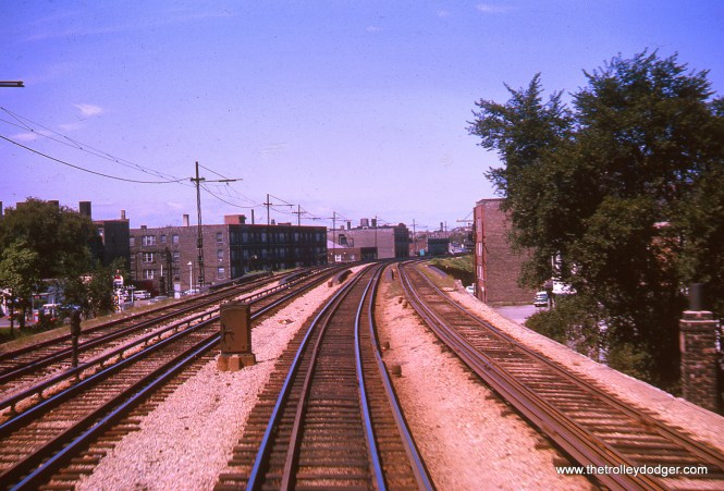 North of Loyola, looking north, August 1963.