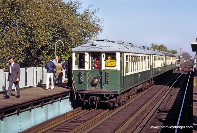 CTA 4410 fan trip 10-21-1973.