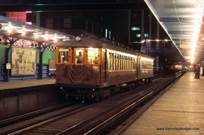CTA 4271-4272 fan trip Randolph-Wells 11-9-1974