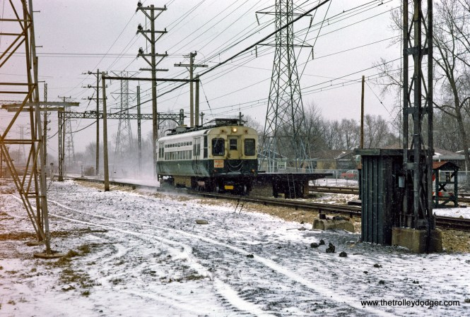 CTA 1-50 series Skokie Swift Crawford Ave 1-1975