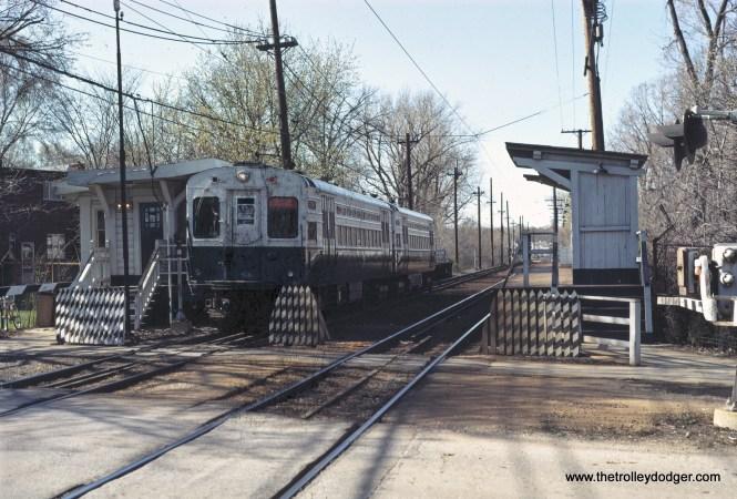 CTA 1-50 series Evanston Express Isabella 4-1971
