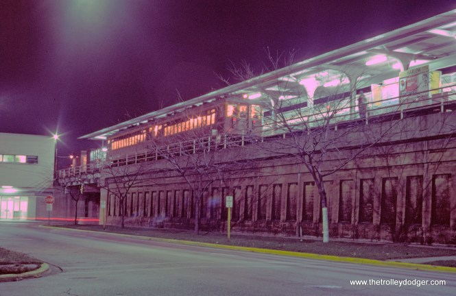 CTA 4271-4272 fan trip Harlem-Lake Terminal 11-9-1974
