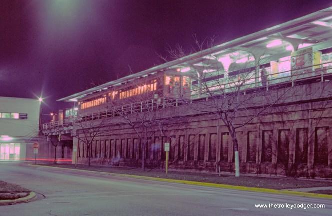 CTA 4271-4272 fan trip Harlem-Lake Terminal 11-9-1974