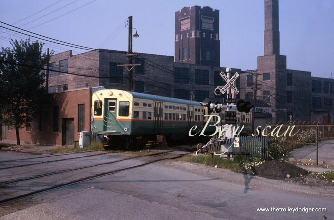 "Along the Douglas Park ""L"" in July 1963."