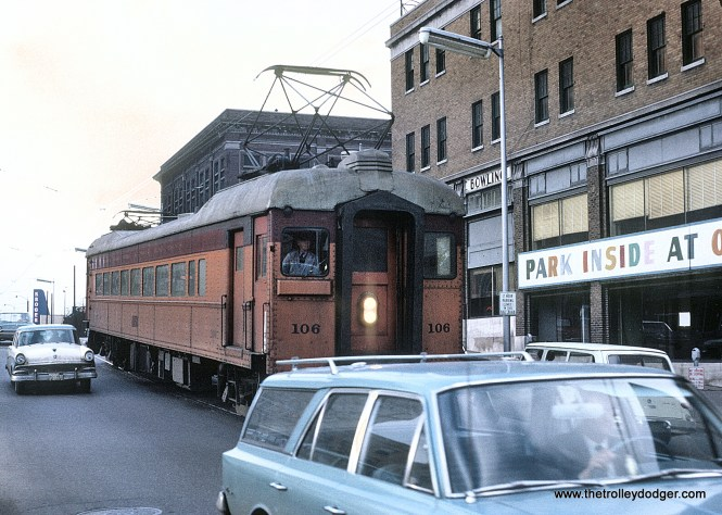 CSS&SB 106 in South Bend, Ind. on January 27, 1964 02