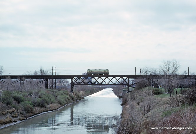 The Skokie Swift Over the North Shore Cannel Roger Puta took this photo in May of 1964 in Skokie. (This appears to be the uncropped version of this photo.)