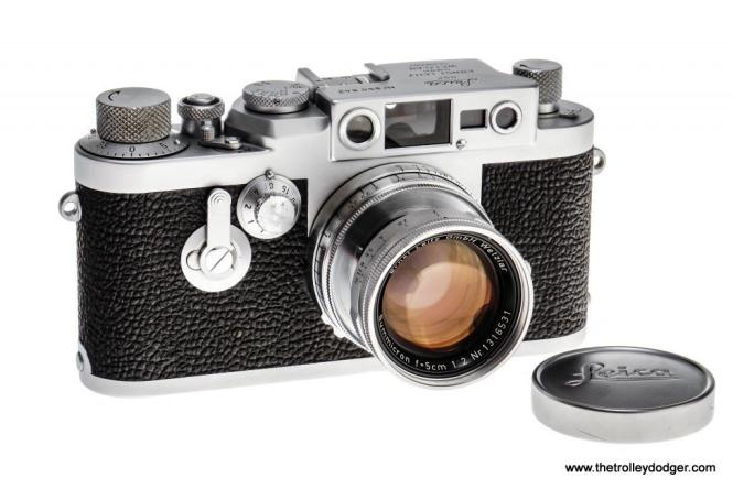 Bill Hoffman used a Leica iiig camera similar to this for many years.