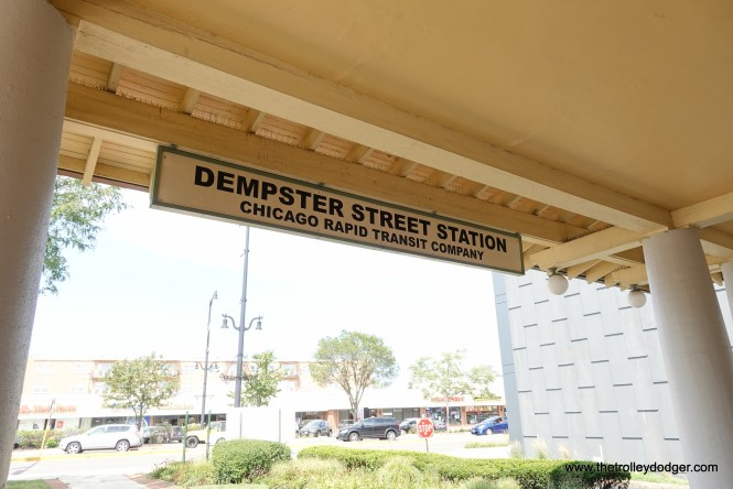 From 1925 to 1948, Dempster was the terminal of the CRT's Niles Center branch.