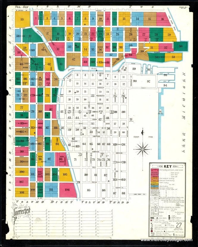 A key to the areas covered by this 1906 set of maps.