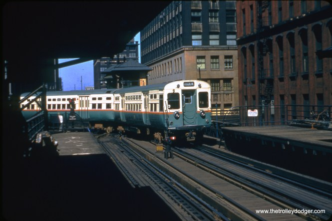 This picture looks north towards Tower 18 on the Loop