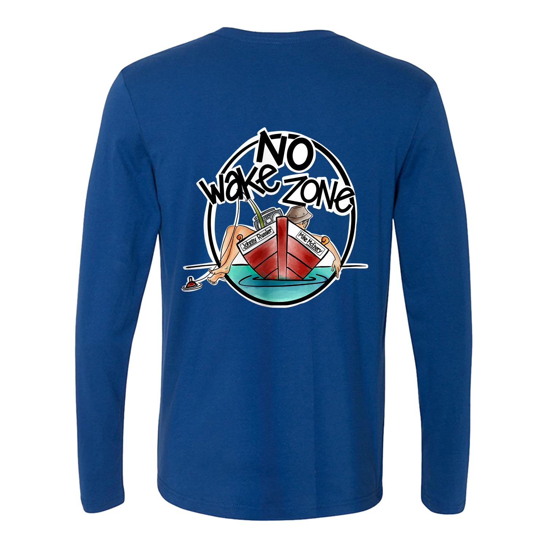 Mike McEnery No Wake Zone Long Sleeve Tee, The Troprock Shop