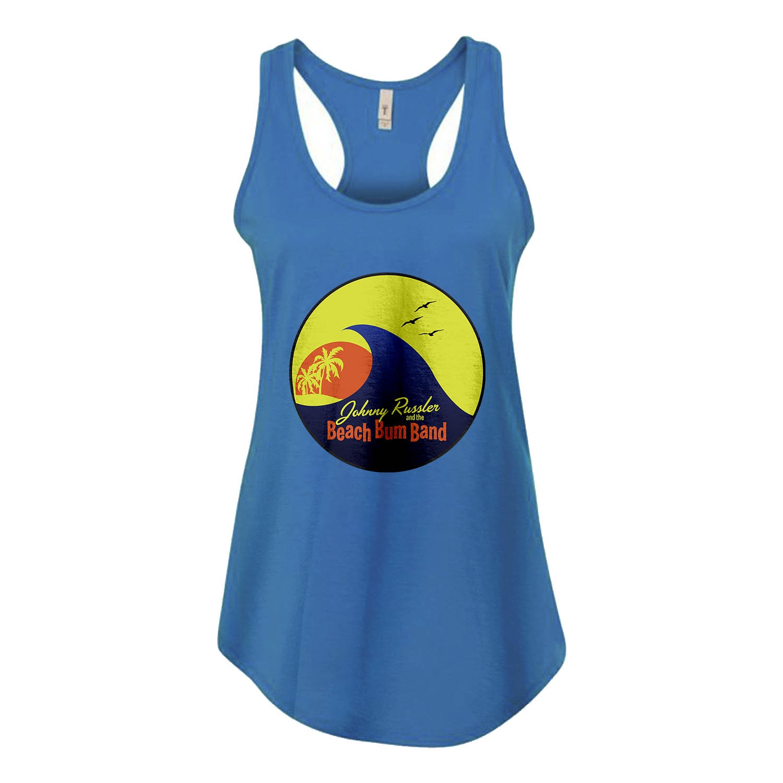Beach Bum Band Logo Ladies Racerback Tank, The Troprock Shop