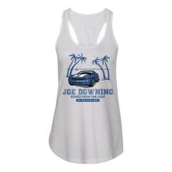 Joe Downing Blue Camaro Ladies Racerback Tank, The Troprock Shop