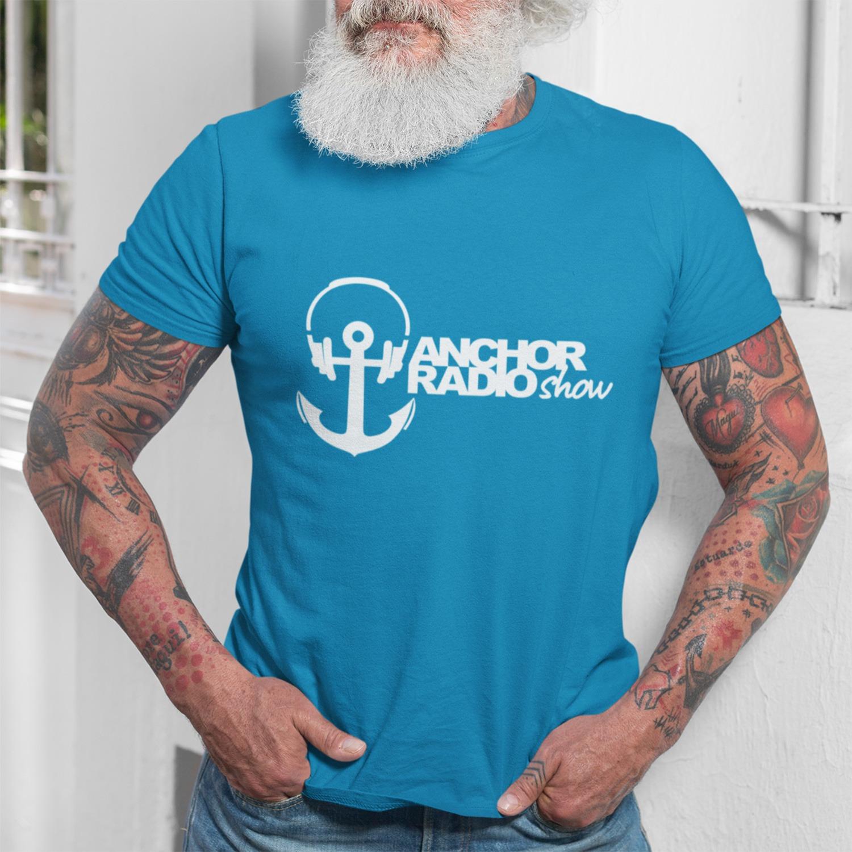 Anchor Radio Show Logo Color Unisex T-Shirt, The Troprock Shop