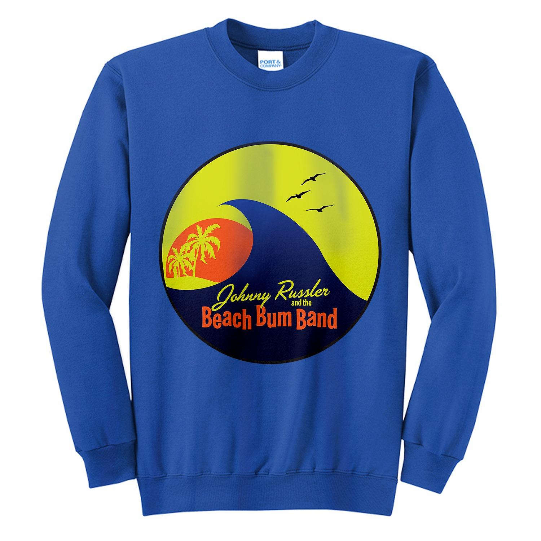 Johnny Russler and the Beach Bum Band Logo Unisex Sweatshirt, The Troprock Shop
