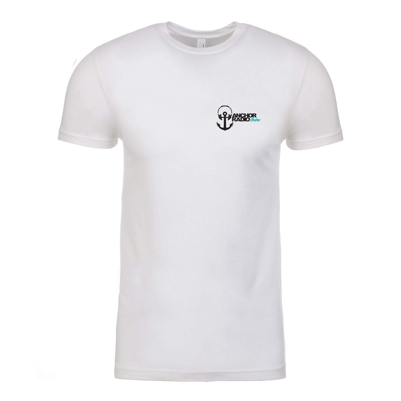 Anchor Radio Show Pocket Logo Unisex T-Shirt, The Troprock Shop