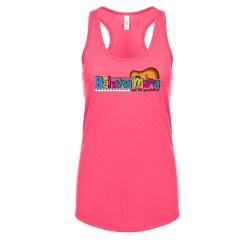 Bahama Mam and the Painkillers Logo Racerback Tank, The Troprock Shop
