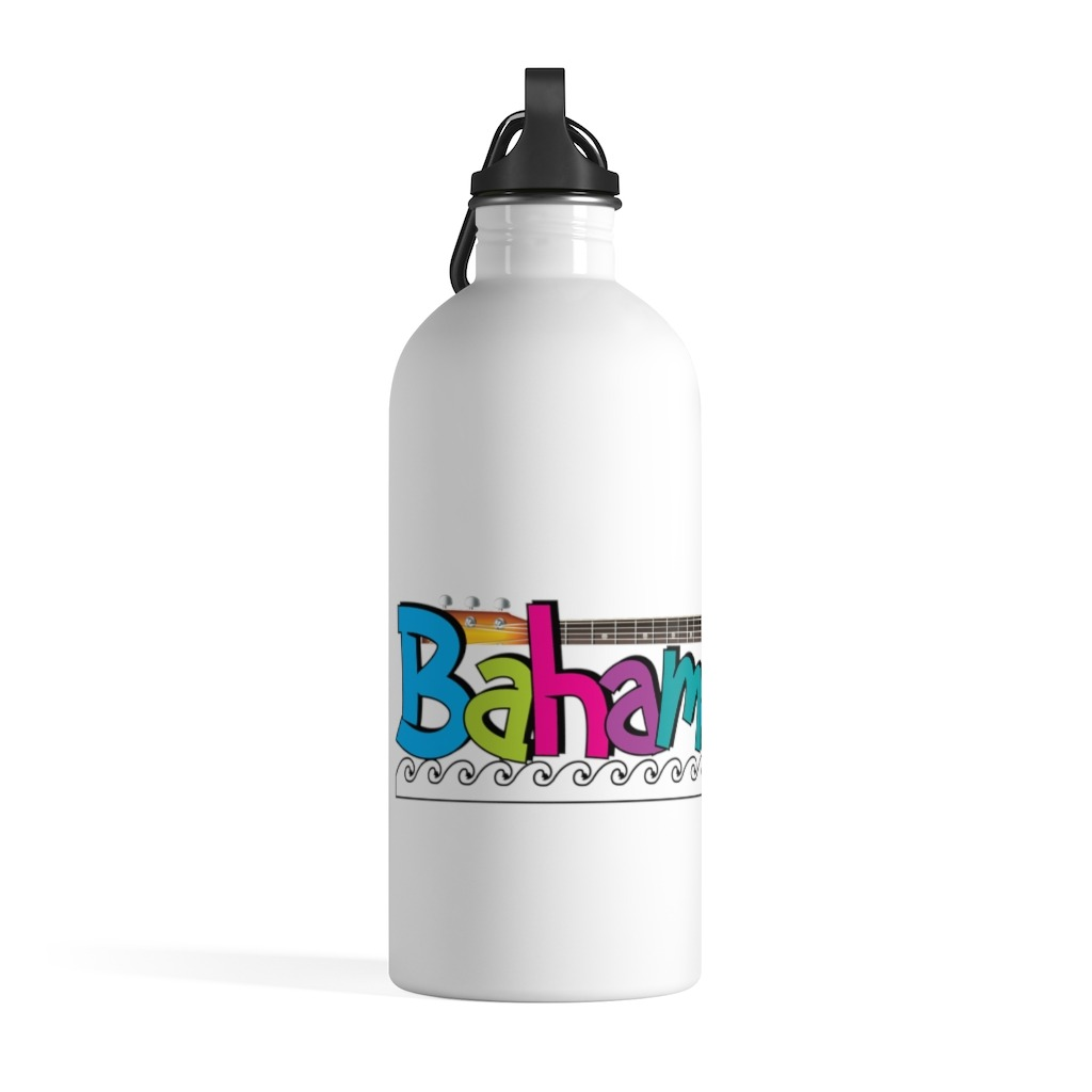 Bahama Mama and the Painkillers Stainless Steel Water Bottle, The Troprock Shop