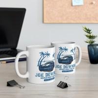 Joe Downing Blue Camaro Ceramic Mug 11oz