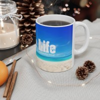 Shore Life Radio Ceramic Mug 11oz