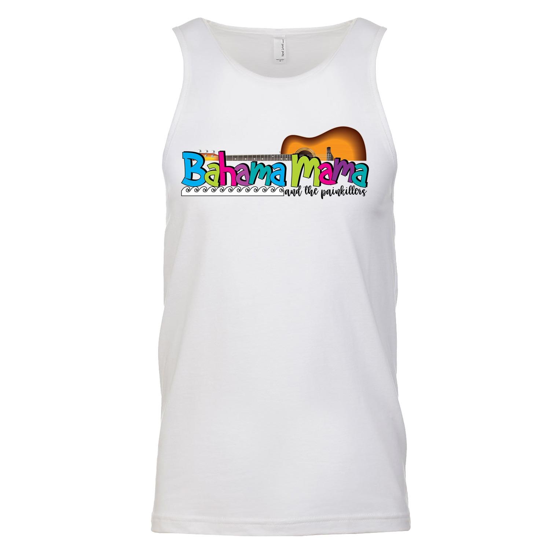 Bahama Mama Logo T Men's Tank Top, The Troprock Shop