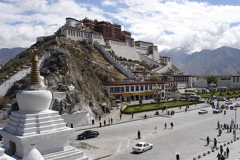 The House that the Dalai Lama wants back