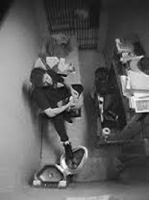 Bernardo's cell at Kingston
