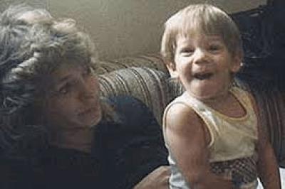 Debra & little Christopher