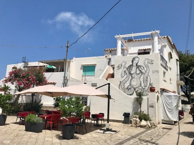 Anacapri streets