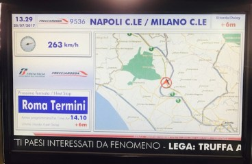 High speed train to Roma