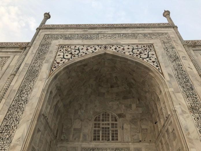 Taj Mahal - Day trip from Delhi.