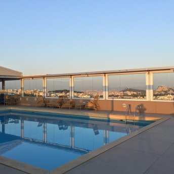 Rooftop pool - Divani hotel Athens