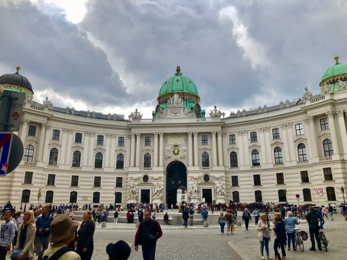 Hofburg Imperial Palace.