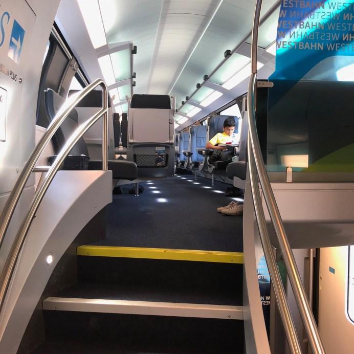 Train from Vienna to Salzburg